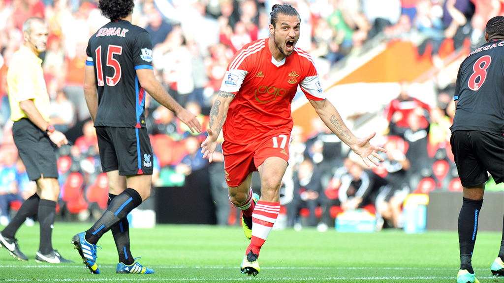 Osvaldo is the star signing of Southampton.