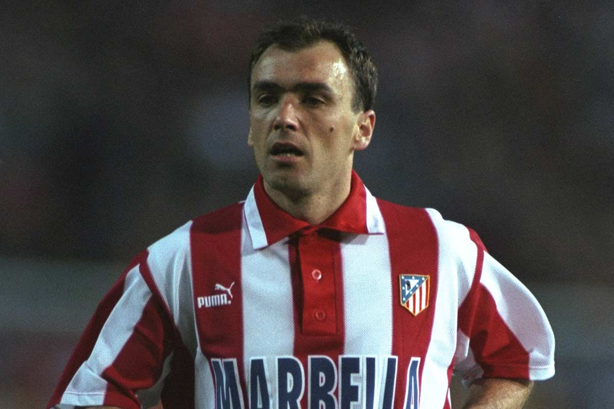 Pantic, one of the best players in the history of Atletico Madrid