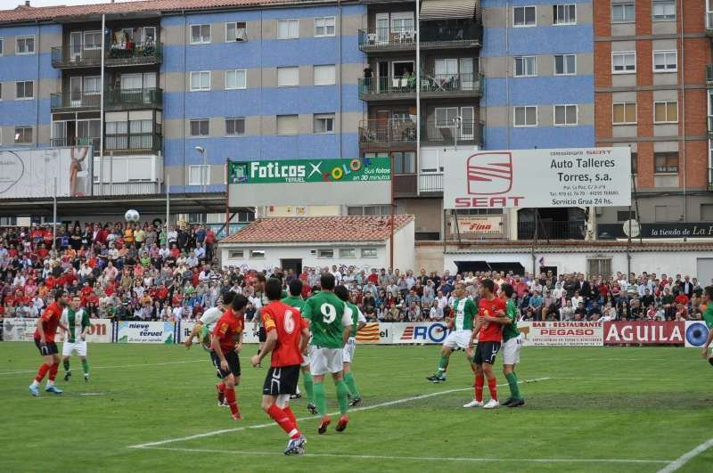 Pinilla Stadium hosts the matches Teruel.
