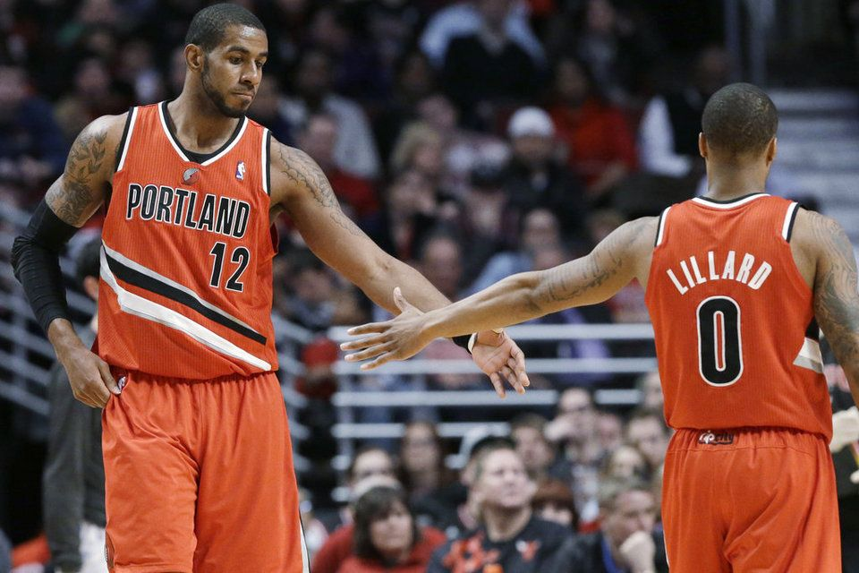 A quintet similar to last season, Lillard and Aldridge players will again reference.