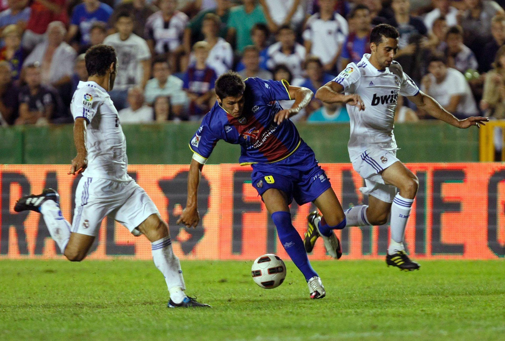 Rafa se ganó con su esfuerzo el cariño de los aficionados del Levante.