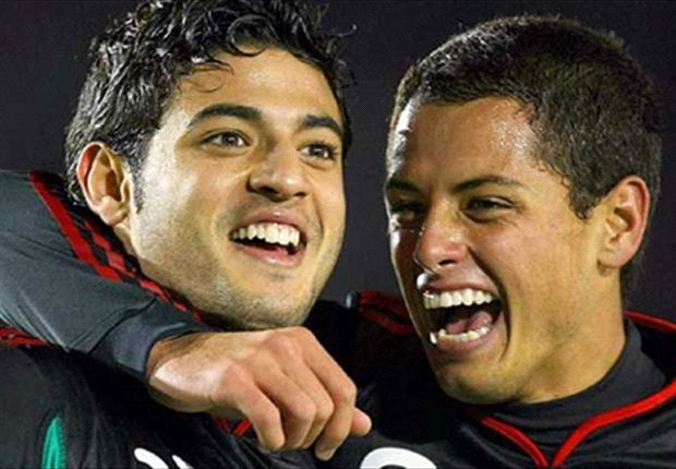 ¿Volverán Vela y Chicharito a formar pareja atacante en México?.