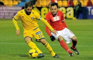 El partido entre Alcorcón y Murcia fue bastante ajetreado.