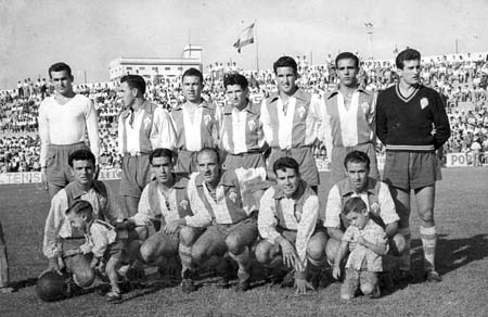 Alcoyano was in the years 50 in the top.