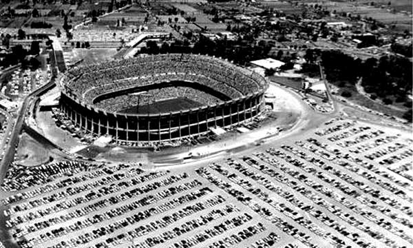 The Azteca was packed at the World Cup 70.