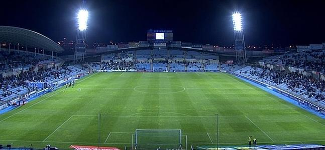Getafe, Copa del Rey and cold. Perfect cocktail for a half-empty stadium.