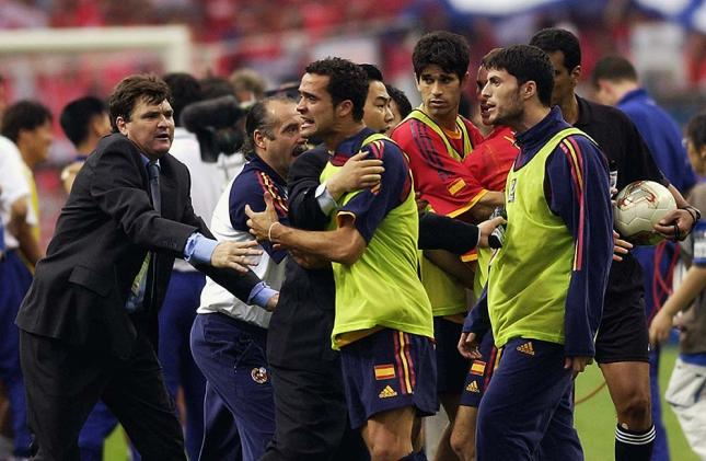 Helguera and Juanfran were the most enraged by that famous arbitration proceedings.