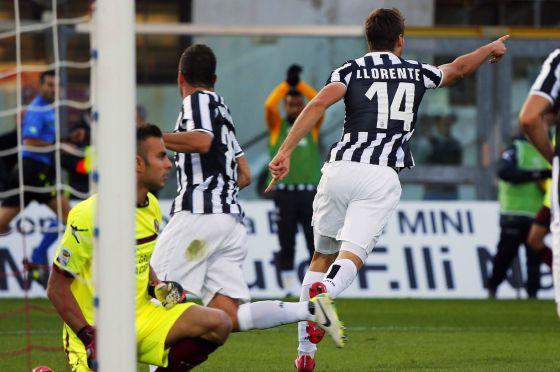 Llorente marcó un nuevo tanto para la Juve.