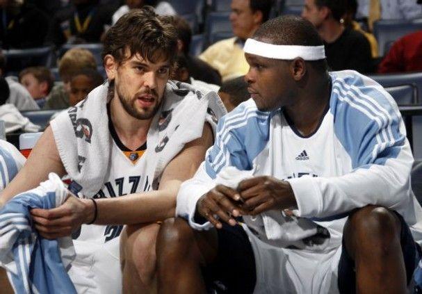 Marc Gasol y Zach Randolph serán el mayor peligro de la franquicia de Memphis.