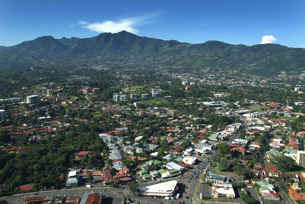 Imagen de la capital San José.