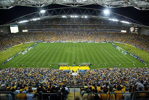 El ANZ Stadium de Sidney es el hogar de Australia.