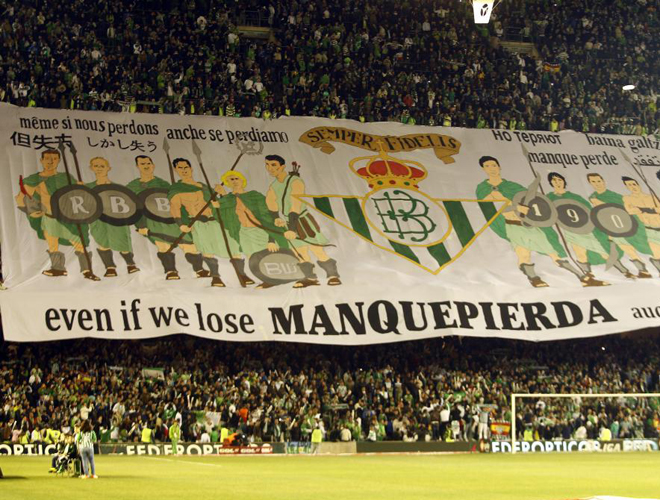 Betis has a loyal crowd.