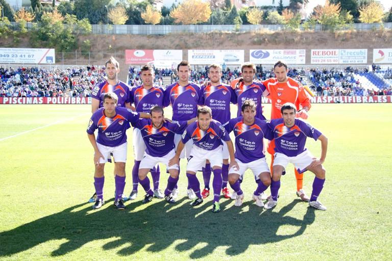 El Guadalajara estuvo jugando dos años en Segunda.