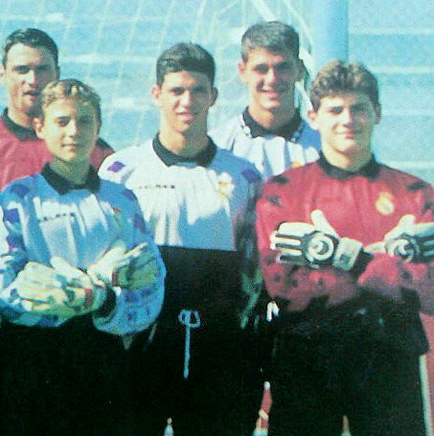 Reguero was formed in the quarry Madrid with Iker Casillas