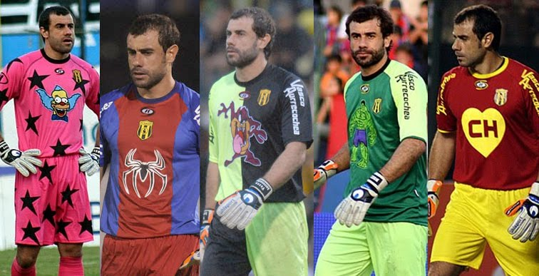 """Las camisetas del """"Vasco"""" son cuanto menos originales."""