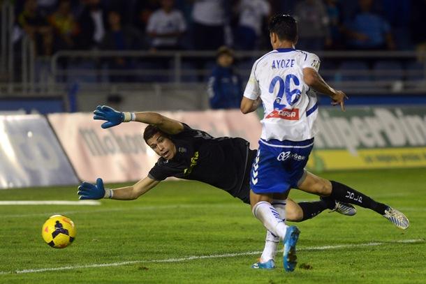 La evolución de Ayoze Pérez está siendo seguida por muchos clubes de nivel.