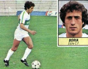 Boria, the father of the Ñiguez was also a professional footballer.