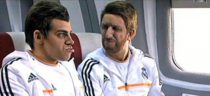 Bale y Sergio Ramos fueron parodiados, el galés fue bautizado como Forrest Gump.