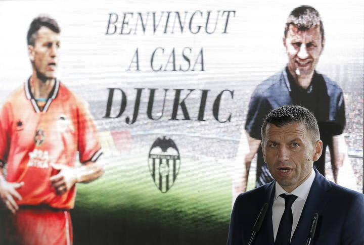 Djukic llegó con muchas expectativas al Valencia que no ha podido cumplir al ser cesado.