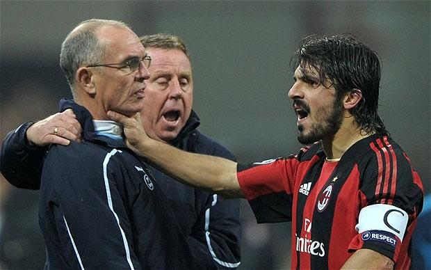 Gattuso siempre ha destacado por ser un tipo de carácter.