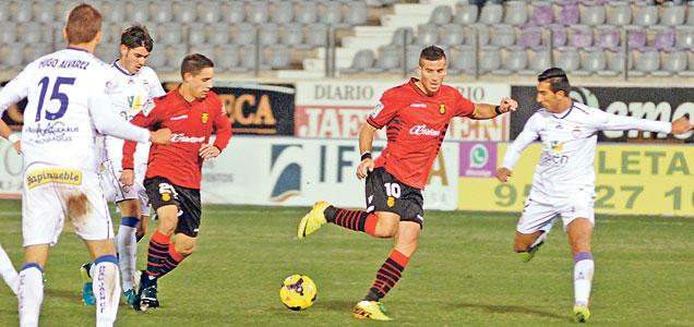 Hemed volvió a sentirse futbolista en Jaén.