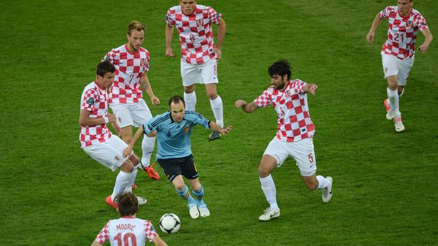 Croatia made it very difficult for Spain in the last European Championship.
