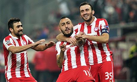 Olympiakos y Mitroglou son una amenaza más que real para el United.
