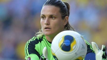 Nadine Angerer, la mejor portera del mundo.