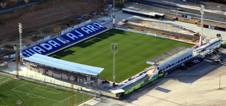 En el Pedro Escartín caben 8.000 espectadores.