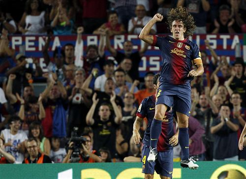 Puyol is certainly one of the best players in the history of Barca.