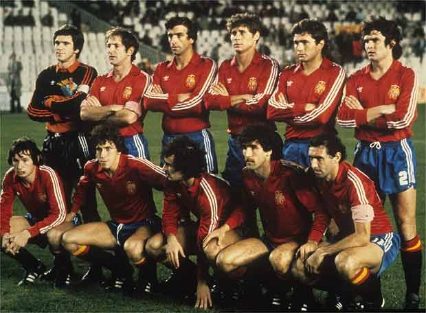 Zamora was in the Spanish team that played the World 1982.