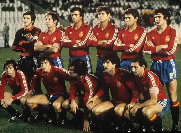 Zamora estuvo en la selección española que jugó el Mundial de 1982.