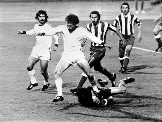 Miguel Reina was the star of the final of the European Cup 1974.