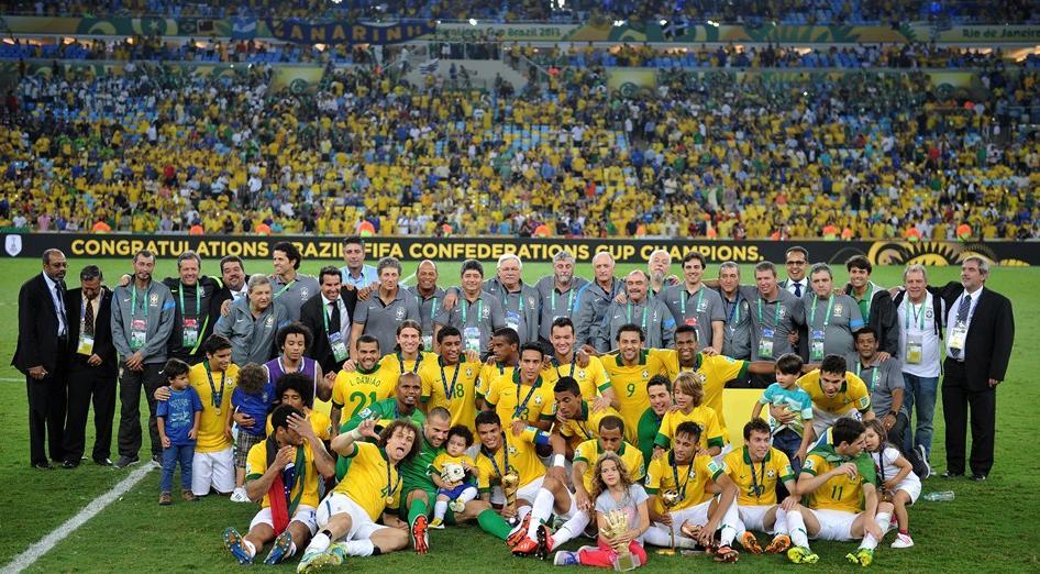 Brasil ganó la Copa Confederaciones a España.