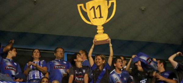Emelec ha conquistado en Ecuador su 11ª liga.