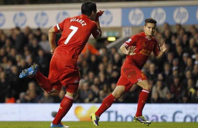 Luis Suárez está en el mejor momento de su carrera.