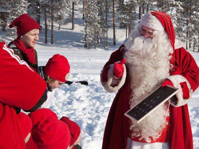 Santa Claus es fiel al 4-4-2.