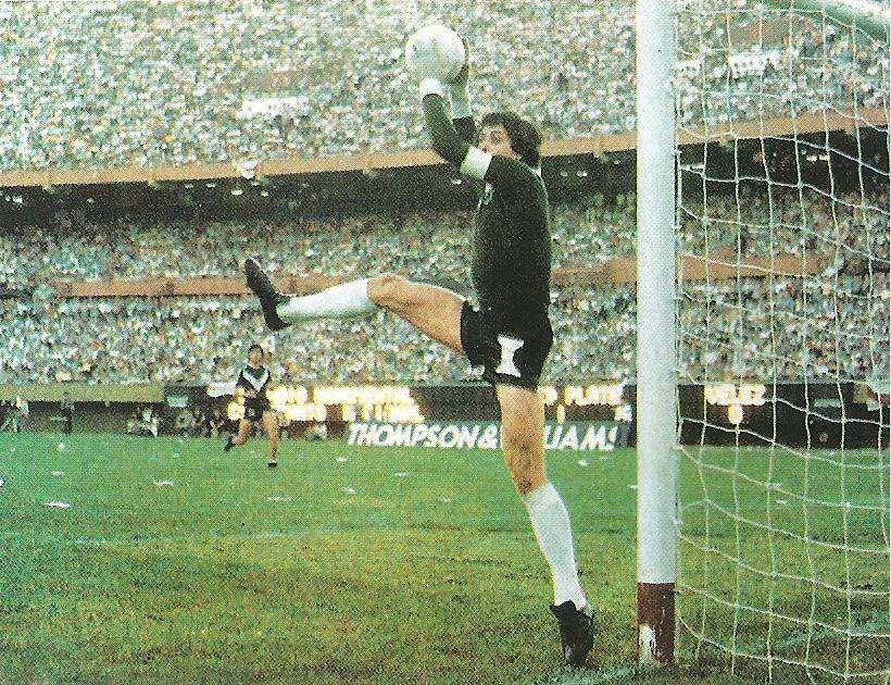 The ball does not bend: Ubaldo Fillol.