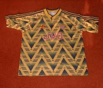 This dizzying and extravagant shirt dressed Londoners in the early 90.
