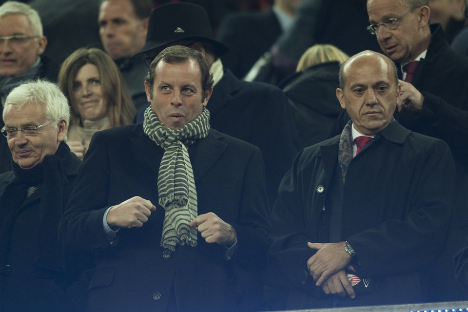 Del Nido and Rosell, corruption in the world of football.