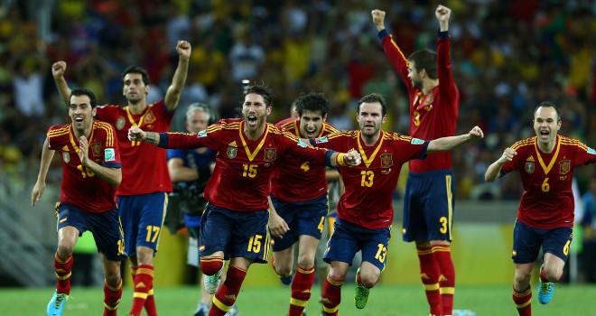 España fue finalista en la pasada Copa Confederaciones.