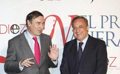 Florentino and Pedro J. Ramírez have always maintained a good relationship.
