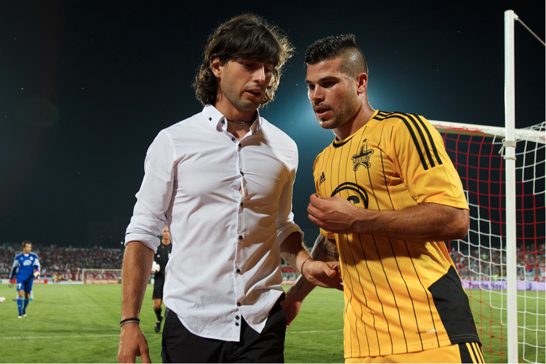 Juan Ferrando had the Sheriff leader at the time of his dismissal. Photo: FC Sheriff Tiraspol