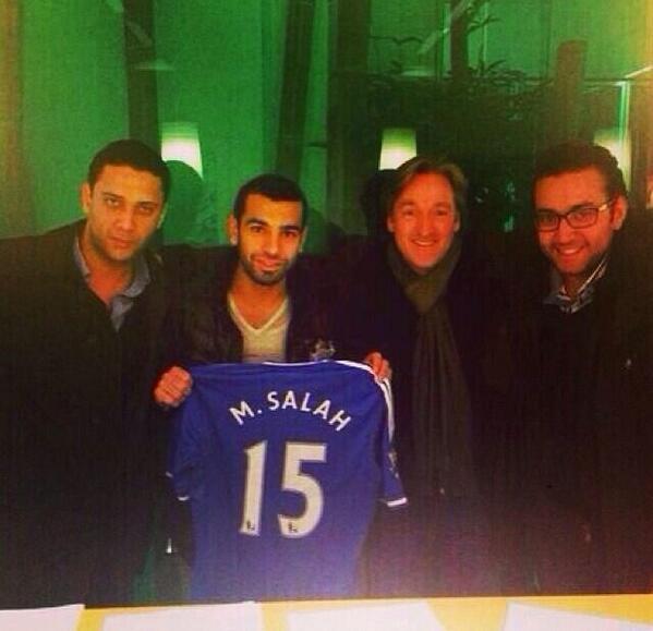 Salah ha fichado por el Chelsea de Mourinho.