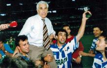 Arsenio Iglesias, uno de los mejores entrenadores de la historia de la Liga