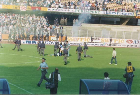 La separación yugoslava debilitó muchos a los equipos de la zona.