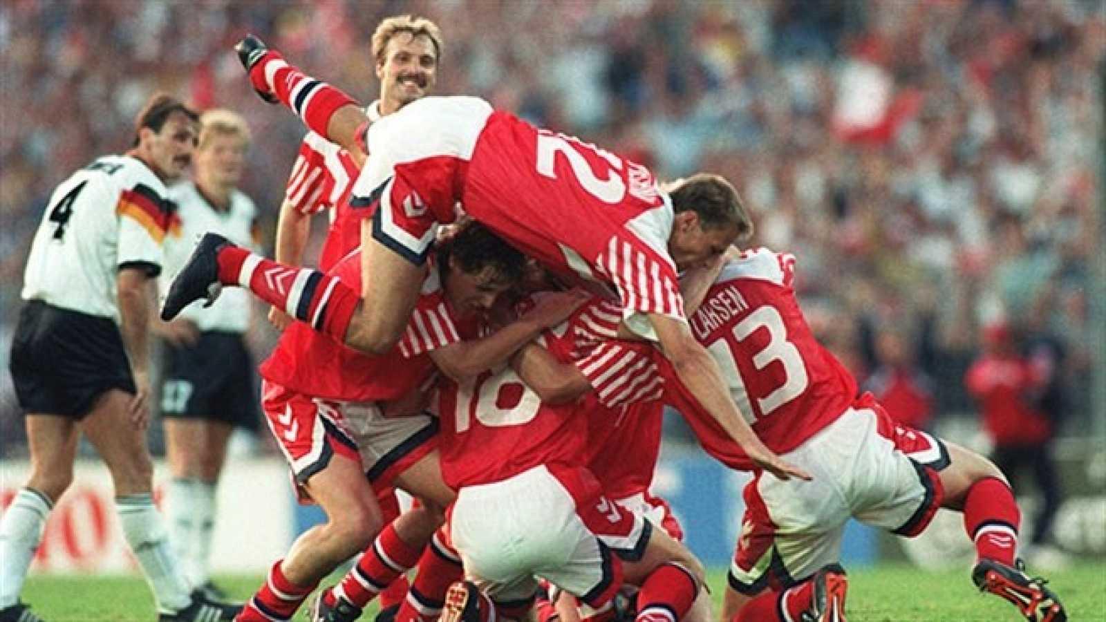 Dinamarca ganó la Eurocopa de Suecia