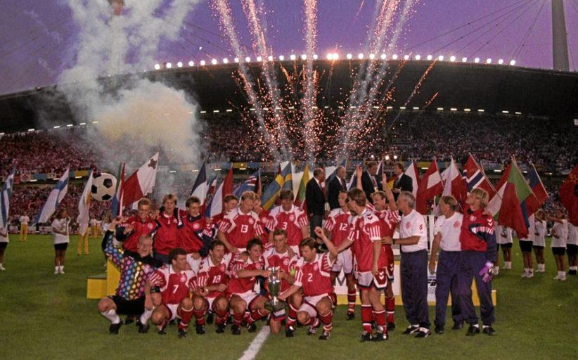 Dinamarca ganó la Eurocopa de Suecia 1992 llegando como invitada