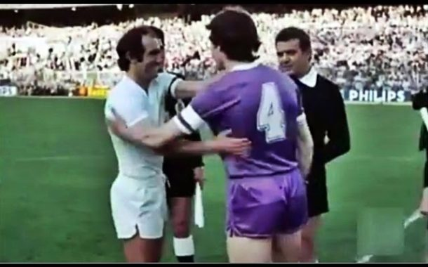 Famous Real Madrid-Castilla Cup final 1980