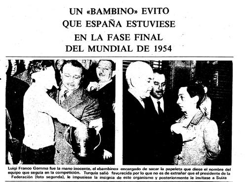 """Franco Gemma envío a España a casa con su """"mano inocente""""."""